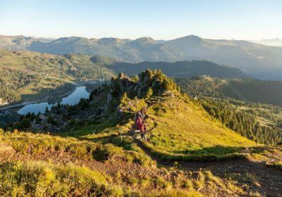 Berg See Wandern