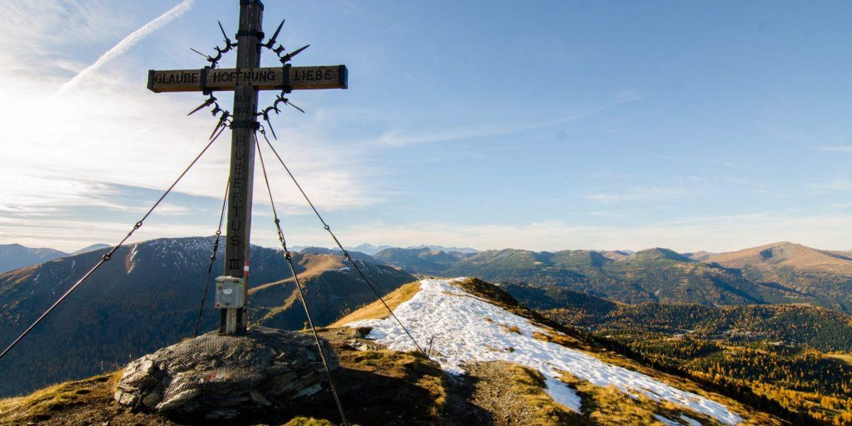Gipfel Schoberriegel