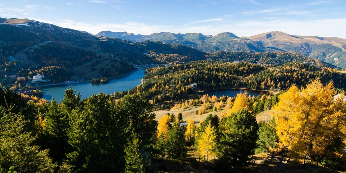 Herbst Turracher See Schwarzsee